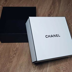 Chanel Authentic Lux White Packaging Box 100% Auth